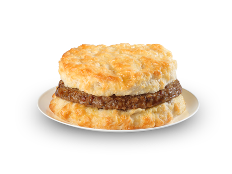 Sausage Biscuit - Menu - Bojangles' Famous Chicken 'n Biscuits